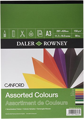 - Daler - Rowney A3 Canford Coloured Pad