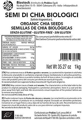 Probios Semillas de Chía sin Gluten - 1000 gr