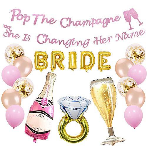 VEANU PARTY SUPPLIES- Bachelorette Party Decorations   Bridal