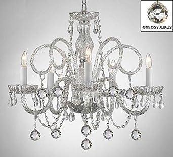 Chandelier Made with Swarovski Crystal All Crystal Chandelier Lighting Chandeliers with Crystal Balls