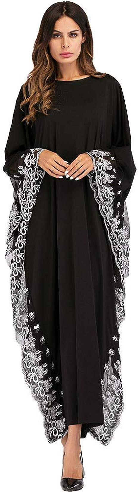 Damen Elegante Muslimische Kleider,Abaya Kaftan-Frauen