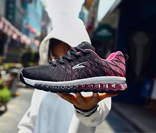 For Men Rose Trainers Air Lightweight Cushion Sneakers Sport Athletic Gym Outdoor Running Jogging Shoes TO47P