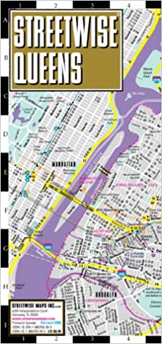 Streetwise Queens Map Laminated City Street Map Of Queens New