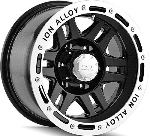 "Ion Alloy 133 Black Beadlock Wheel (16x8""/5x114.3mm)"