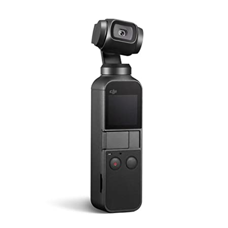 DJI Osmo Pocket 3-Axis Stabilized Handheld Camera Gimbal Video Camera Stabilizers & Supports at amazon