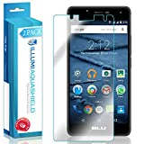 BLU R1 HD Screen Protector (2-Pack), ILLUMI AquaShield Full Coverage Screen Protector for BLU R1 HD HD Clear Anti-Bubble Film