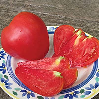 hudiemm0B Tomato Seeds, 100Pcs Heart Tomato Seeds Delicious Fruit Vegetable Home Garden Patio Decor Tomato Seeds: Sports & Outdoors