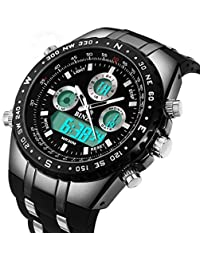 Big Face Sports Watch for Men, Waterproof Military Wrist...