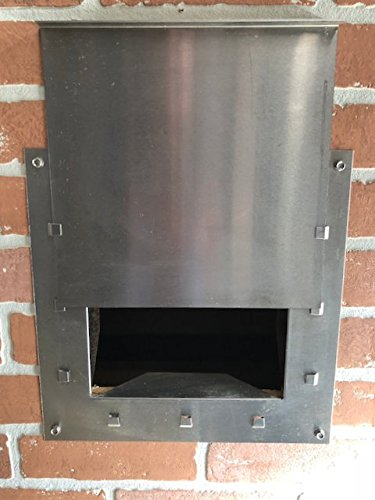 Stainless Steel Furnace/Fireplace Clean-Out w/Sliding Door ()