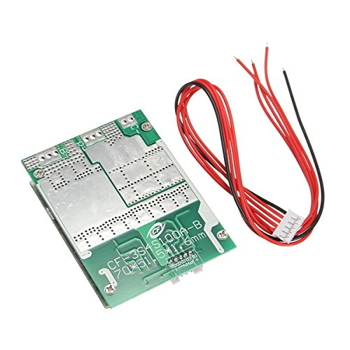4S 100A 12V LiFePo4 18650 Battery Cell BMS Protection Board + Balance With Cable High-Power Low Resistance MOS Inverter Converter - Arduino Compatible SCM & DIY Kits