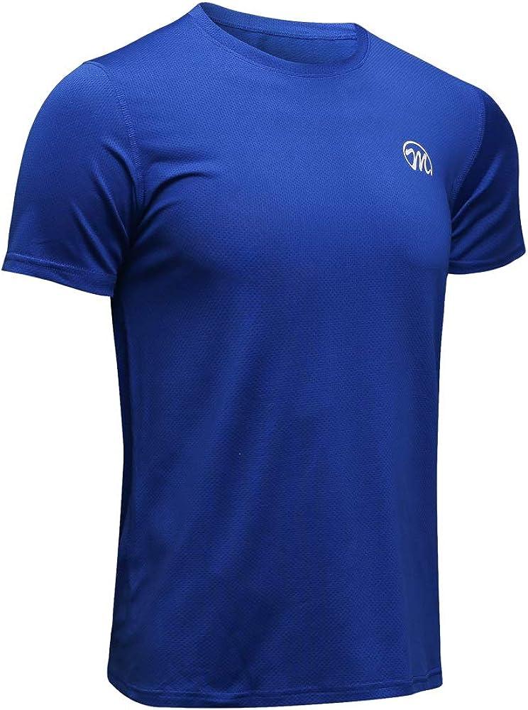 MEETWEE Deportes Camisetas Hombre, Camiseta de Manga Corta Ropa para Hombre para Running Atletismo: Amazon.es: Ropa y accesorios