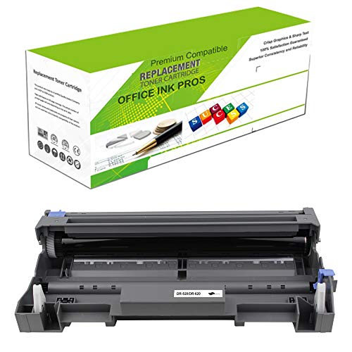 (Premium Ink&Toner | Re-Manufactured Toner Drum Replacement for DR-520(Universal with DR-620) - Standard Yield Laser Printer Drum Compatible with Brother)