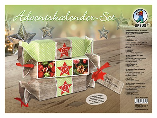 Ursus 17840003 Adventskalenderset Traditional