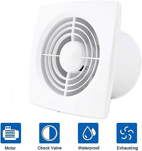 FANS 22W Ventilador de extracción de ventilación de hogar de 6 ...