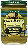 Onceagain Organic Sunflower Seed Butter, 16 Ounce (Pack of 2)