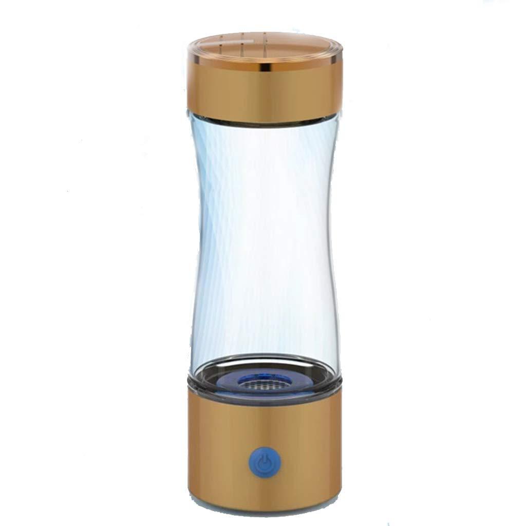 【福袋セール】 電解水素水マグ、ポータブルホームマイナスイオン品質usb健康スマート充電ガラスギフトケトルアルカリ酸素ジェネレーター300ml簡単にカップ(7** 21センチメートル),Gold Gold B07GCQ5Y8L B07GCQ5Y8L, 滑川市:00232a90 --- a0267596.xsph.ru