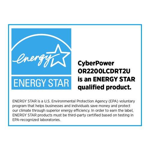 CyberPower Smart LCD OR2200LCDRT2U