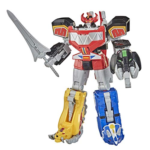 Power Rangers Mighty Morphin Megazord Megapack Includes 5 MMPR Dinozord Action Figure Toys for Boys and Girls Ages 4 and…