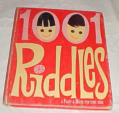 1001 Riddles:A Platt & Munk Fun-Time Book