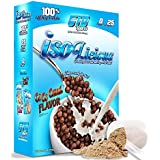 Grassfed Whey Protein Powder. Best Tasting, Low Carb Grass Fed Protein Isolate. Isolicious 1.6 lb Box Coco Cereal Flavor