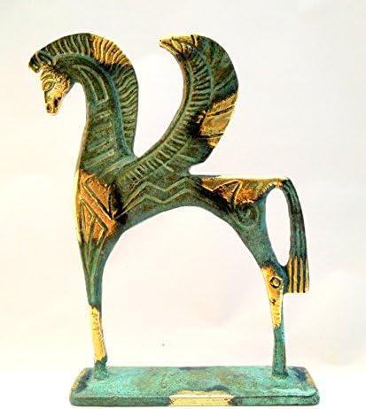 Statue Pegasus Bronze Ancient Greek Museum  Replica 175