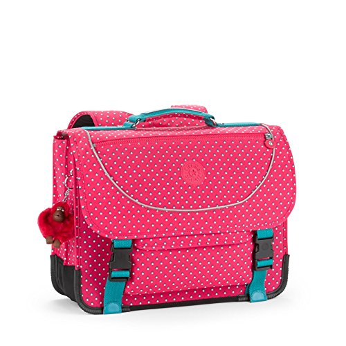 Kipling Preppy Medium School Bag Pink Summer Pop by Kipling