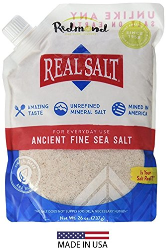 REDMOND Real Sea Salt - 26 ounce pouch (1 Pack)