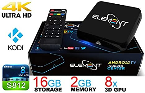 2016 Fully Loaded Element Ti4 Quad Core Android TV Box 2GB