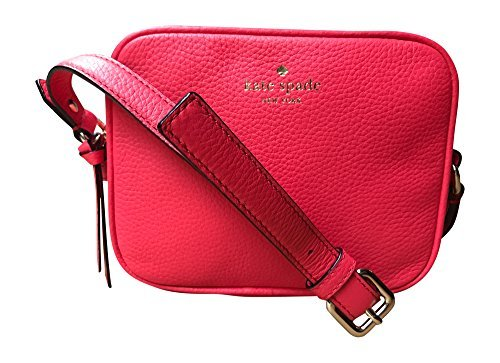 Kate Spade New York Mulberry Street Pyper Pebbled Leather Crossbody Bag, Crab Red by Kate Spade New York