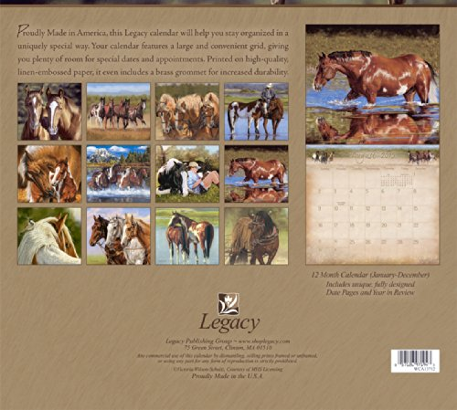 Legacy Publishing Group, Inc. 2015 Wall Calendar, Horses by Victoria Wilson-Schultz (WCA13712) Photo #3