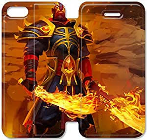Screen Protection Phone Cases Dota 2-30 iPhone 4 4S Leather Flip Case
