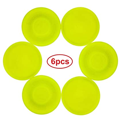 RobertHeth 6PCS Mini Soft Frisbee New Mini Frisbee Catching Pocket Flying  Saucers Ideal for Children and Adults
