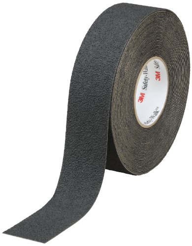 - 3M Safety-Walk Slip-Resistant Medium Resilient Tapes and Treads 310, Black, 4