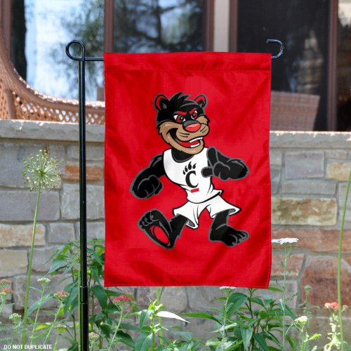 Cincinnati The Bearcat Mascot Garden Flag and Yard Banner ()