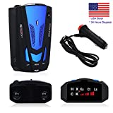 Product Description:  1. This Radar detector features a laser eye detector for a 360 degree laser detection and easy to install.  2. This Radar can Detect any stable or mobile Radia Speed Monitor 250-2500m ahead.  3. Extreme Range Super heterodyne te...