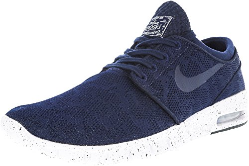 eastbay sale online NIKE Men's Stefan Janoski Max Ankle-High Running Shoe Midnight Navy / Midnight Navy / White best place best prices cheap price IwG8P6pI