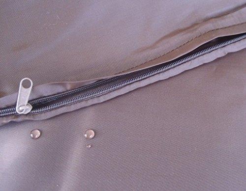2 Pack Internal duvet case Waterproof Zipper pet dog bed cover for small medium 35