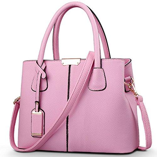 Meoaeo Bolso De Hombro Beige Pink