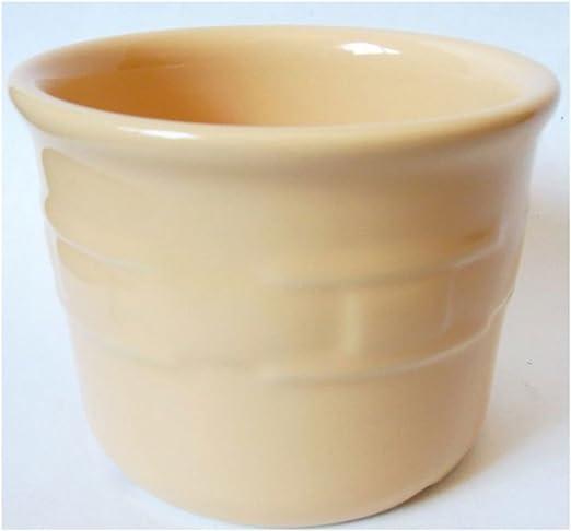 Longaberger Pottery Blue Woven Traditions 1 Pint Crock