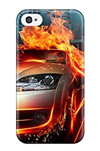 High Quality CwhATWf3257sArCK Car In Fire City Hq Tpu Case For Iphone 4/4s