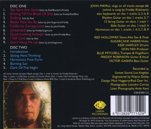 Ten Years Are Gone /  John Mayall