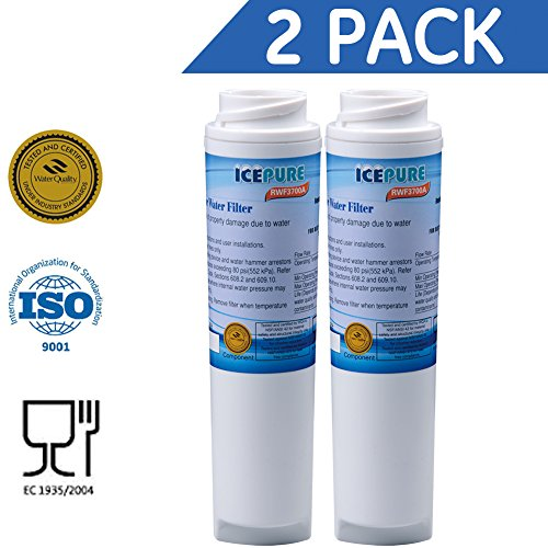 Holiday Promotions!!!Icepure RWF3700A Refrigerator water filter replacement for GE GXRLQR,GXRLOR,GXRLQ,GXSTQ,GXSTQR (2 PACK) -  Best Pure, EP-MWF