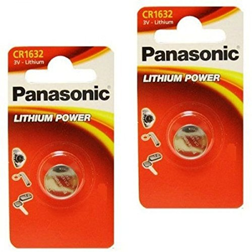 4pcs Panasonic CR1632 CR 1632 3v Coin Lithium
