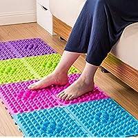 29 * 39cm Foot Massager Pads Explosion Pebbles Foot Massage Pad Shiatsu Blanket Sheet Pressure Slab Toe Pad Yoga Mat Game Props
