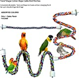 Twist'N'Shape Cotton Rope Cable Bird Perches (X-Large)