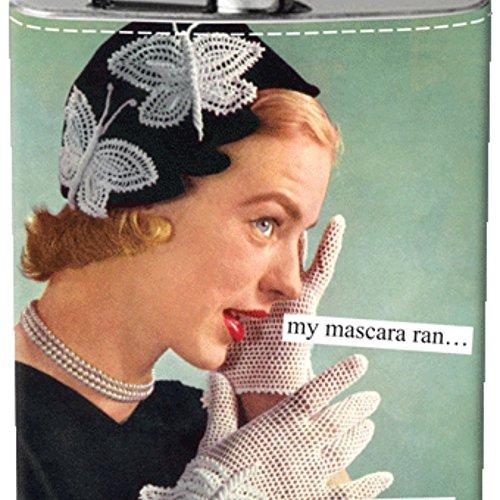 Anne Taintor Flask - Mascara -