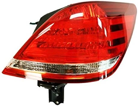 Halogen Tail Light For 2005-2007 Toyota Avalon Left Outer Clear//Red w// Bulbs