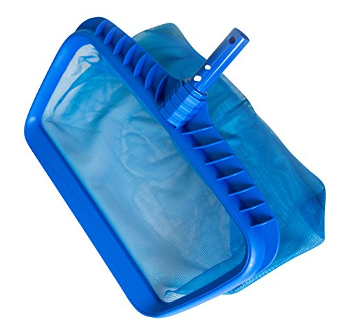 """Heavy Duty Swimming Pool Leaf Rake and Skimmer, 19 x 16"""" 