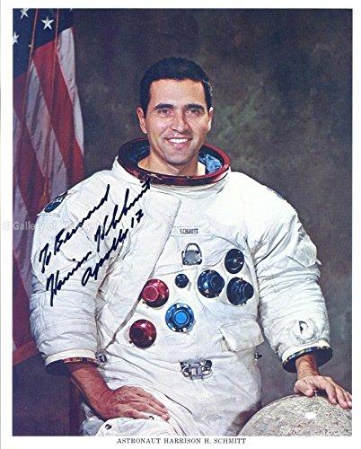 "Harrison""Jack"" Schmitt Inscribed Photograph Signed"