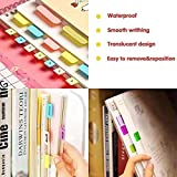 Norocme 900 Pieces Tabs Sticky Index Tabs,Writable